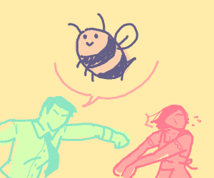 a family arguing over bee neon beach palette