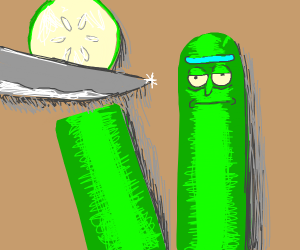 Pickle Rick!!