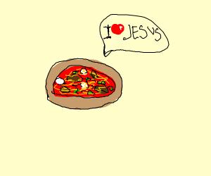 Pizza Loves Jesus