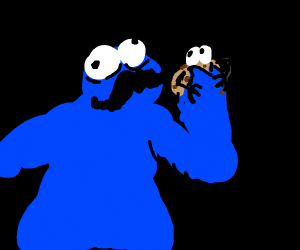 Cookie monster levels up to live meals