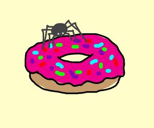 Spider in donut