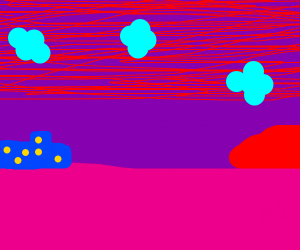 Purple Neighborhood