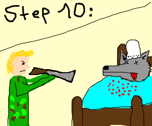 Step 10: Kill the wolf