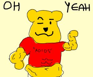 wild winnie pooh bear