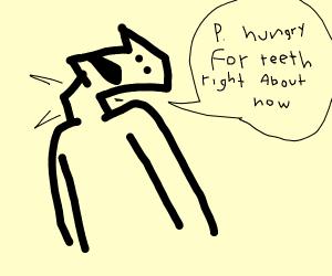 Broken neck tooth eater