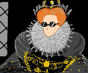 Queen Elizabeth is cool