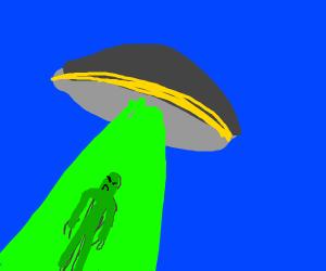 alien ubducts an alien