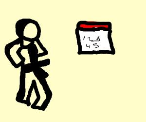 man does kung-fu at callender