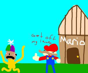 mario hates people