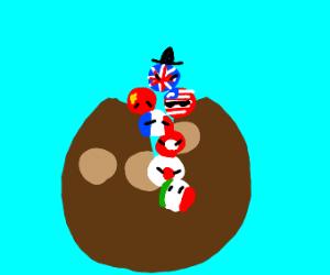 Coconut contains WW2