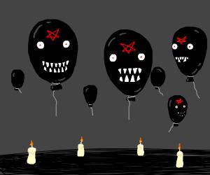 balloon demon things
