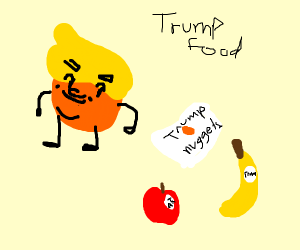 Donald Trump's takes over the food industry