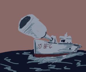 Gun boat