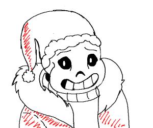 Sans-ta Claus