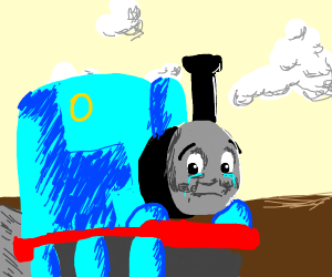 Depressed Thomas the Train