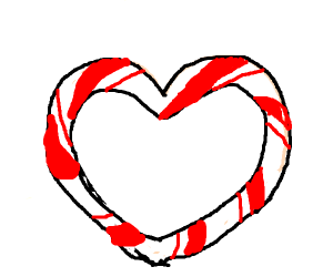 Hearty Candy Cane