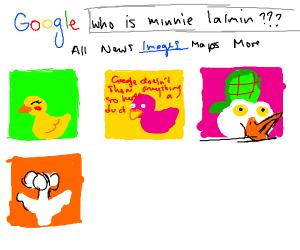 Google, who is Minnie Lalmin?????