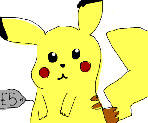 Pikachu is only 3 euros