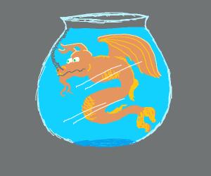 dragon fish (literally)/a dragon head