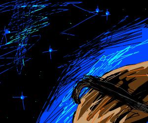 Saturn is pregananant