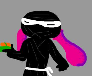 Ninja in Splatoon