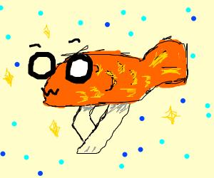 a fish owo