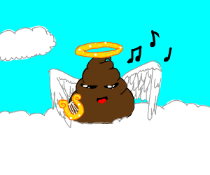 Angel poop singing
