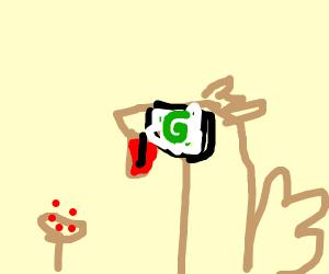 Turkey on shrooms