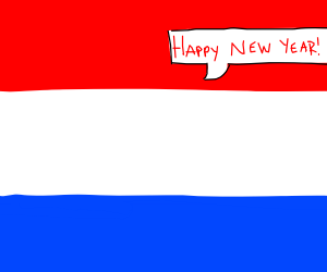 Happy new year from Netherlands!