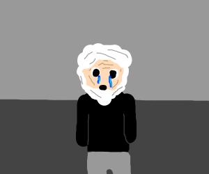 old man crying (waaaa waaaa)