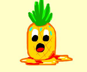 pineapple bleeds
