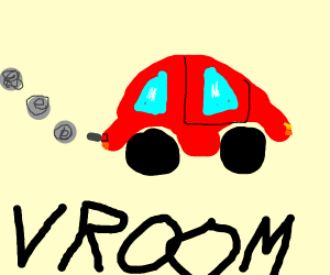 Car goes vroom