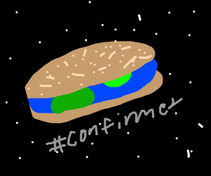 The Earth is Sandwich Sub shaped #confirmed