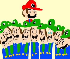 A cult full of Luigis.