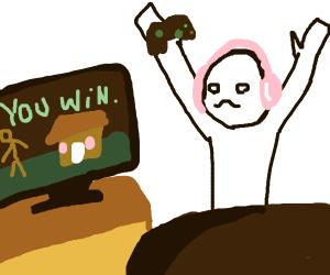An epic gamer moment