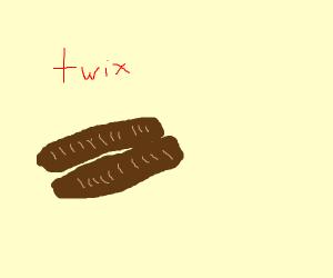 a twix candy bar