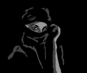 girl wearing a hijab