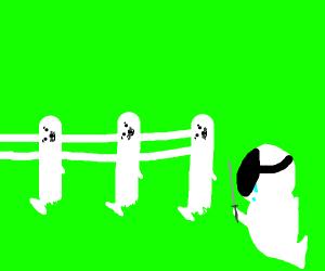 fencing seal
