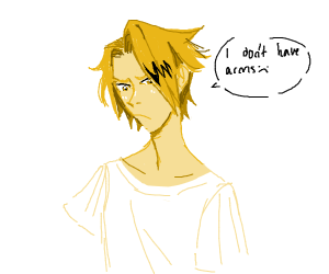 Denki Kaminari has no arms