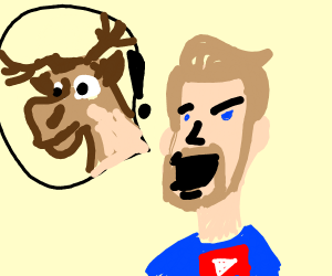 PewdiePie yells Sven