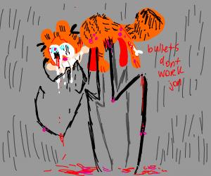 The demon version of Garfield