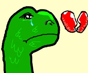 Heartbroken Dinosaur