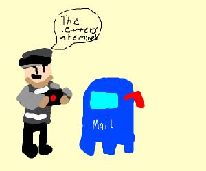 black letter snatcher