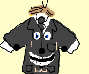 man is a bussiness suit
