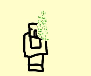 glitched NPC