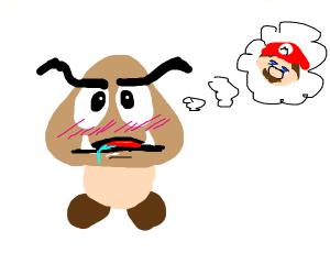 Goomba fantasies about Mario