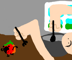 Tomato doesnt want to be made into soup