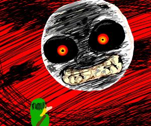 Link Fears Majora's Mask's Moon