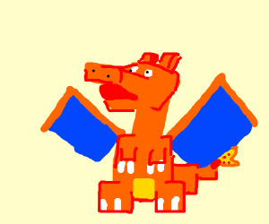 charizard in minecraft