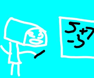 Mailbox doing math